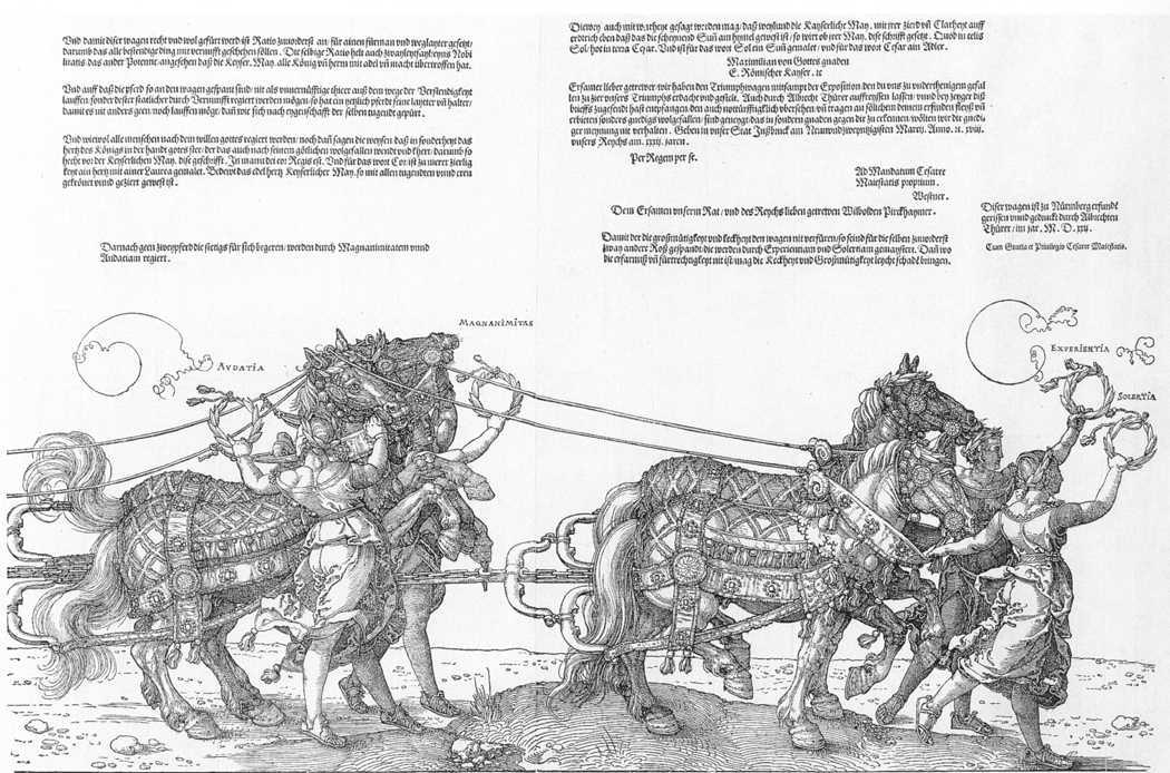 Triumphal Chariot (7/8), 1522 by Albrecht Durer (1471-1528, Italy) | Art Reproduction | WahooArt.com