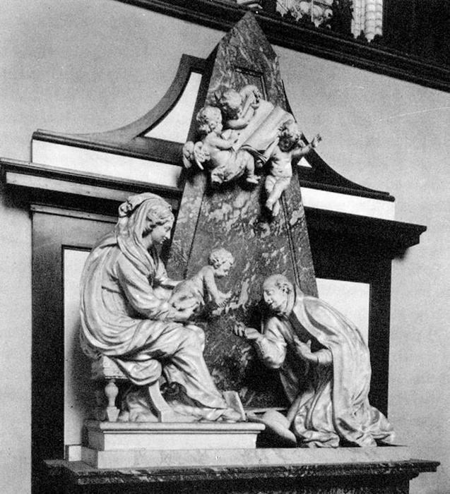 Monument to the Berthout Family, Marble by Lucas Faydherbe (1617-1697, Belgium)