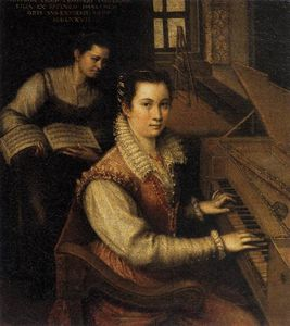 Lavinia Fontana - Self-Portrait at the Spinet