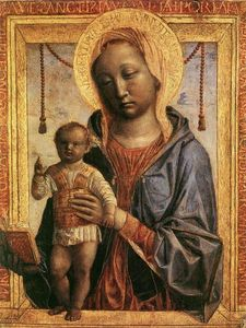Vincenzo Foppa - Madonna of the Book