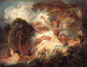 Jean-Honoré Fragonard - The Bathers