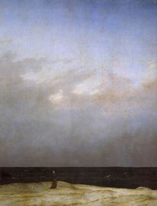 Caspar David Friedrich - Monk by the Sea (detail)