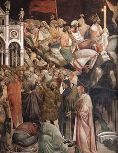 Agnolo Gaddi - The Triumph of the Cross (detail)