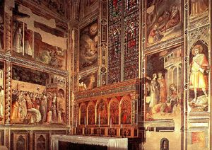 Taddeo Gaddi - General view of the Baroncelli Chapel