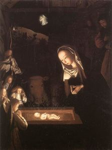 Geertgen Tot Sint Jans - Nativity, at Night