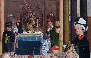 Geertgen Tot Sint Jans - The Holy Kinship (detail)