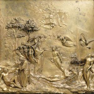 Lorenzo Ghiberti - Creation of Adam and Eve