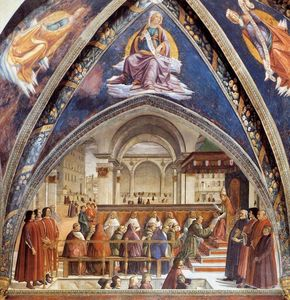 Domenico Ghirlandaio - Confirmation of the Rule