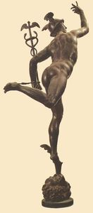 Giambologna - Mercury (rear view)