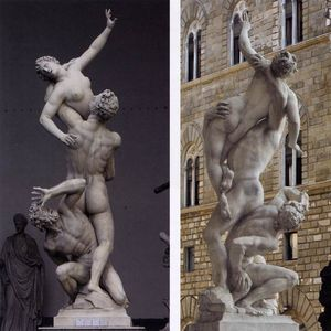 Giambologna - Rape of the Sabines