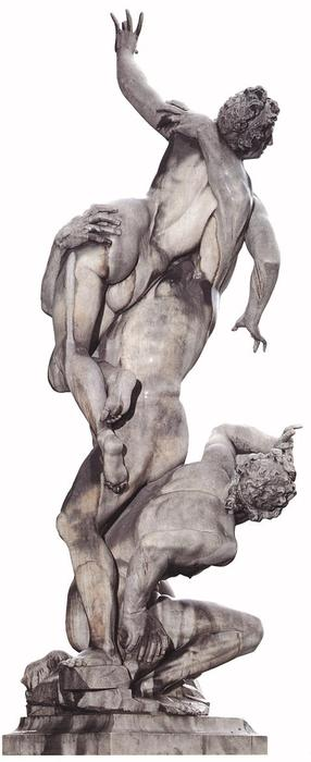 Rape of the Sabines, 1581 by Giambologna (1529-1608, France) | Oil Painting | WahooArt.com