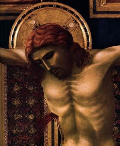 Giotto Di Bondone - Crucifix (detail)