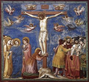 Giotto Di Bondone - No. 35 Scenes from the Life of Christ: 19. Crucifixion