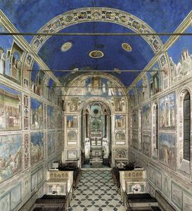 Giotto Di Bondone - The Chapel viewed from the entrance
