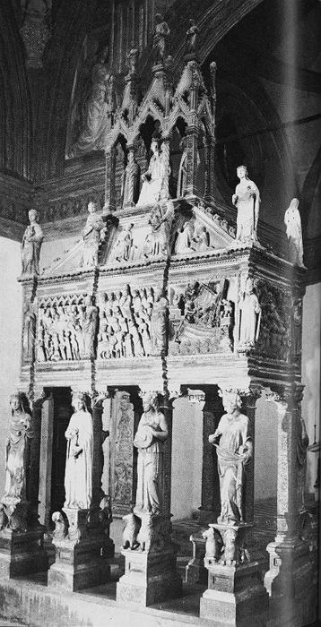 Shrine of St Peter Martyr, Marble by Giovanni Di Balduccio (1290-1349, Italy)