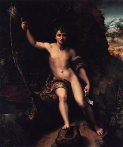 Giulio Romano - St John the Baptist in the Wilderness