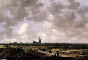 Jan Van Goyen - View of The Hague from the Northwest