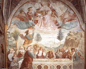 Benozzo Gozzoli - Assumption of the Virgin