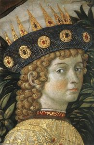 Benozzo Gozzoli - Procession of the Youngest King (detail)