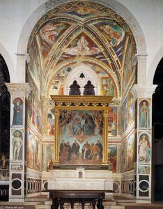 Benozzo Gozzoli - View of the apsidal chapel