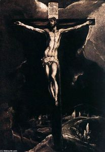 El Greco (Doménikos Theotokopoulos) - Christ on the Cross