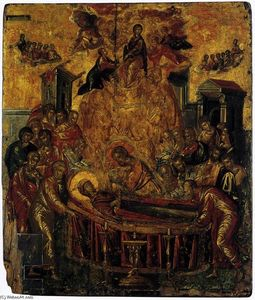 El Greco (Doménikos Theotokopoulos) - The Dormition of the Virgin