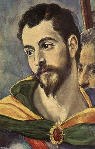 El Greco (Doménikos Theotokopoulos) - The Martyrdom of St Maurice and his Legions (detail)