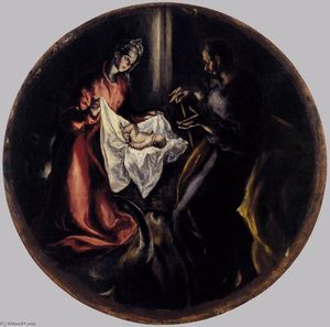 El Greco (Doménikos Theotokopoulos) - The Nativity