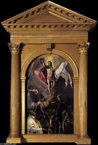 El Greco (Doménikos Theotokopoulos) - The Resurrection