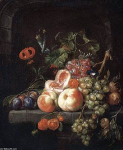 Cornelis De Heem - Still-Life of Fruit