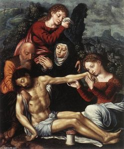 Jan Sanders Van Hemessen - The Lamentation of Christ