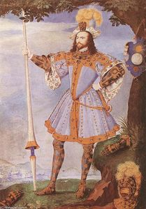 Nicholas Hilliard - Portrait of George Clifford, Earl of Cumberland