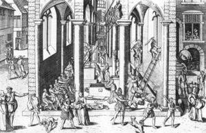 Frans Hogenberg - The Calvinist Iconoclastic Riot of August 20, 1566