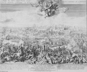 Romeyn De Hooghe - Battle of Narva on 19 November 1700