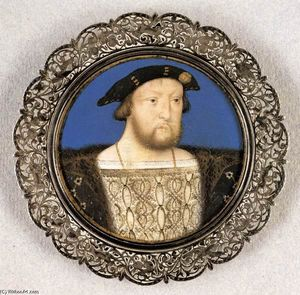 Lucas Horenbout - Henry VIII, King of England