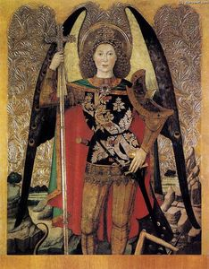 Jaume Huguet - The Archangel St Michael