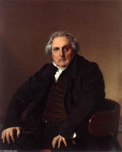 Jean Auguste Dominique Ingres - Monsieur Bertin
