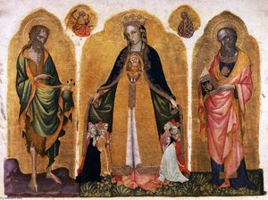 Jacobello Del Fiore - Triptych of the Madonna della Misericordia
