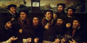Dirck Jacobsz - Group Portrait of the Amsterdam Shooting Corporation