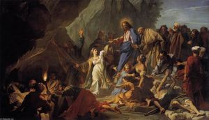 Jean Baptiste Jouvenet - The Raising of Lazarus