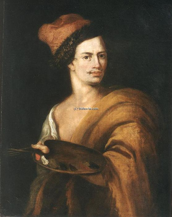 Portrait of Ádám Mányoki by Jan Kupecky (1667-1740, Slovakia) | Famous Paintings Reproductions | WahooArt.com