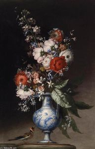 Nicola Malinconico - Flowers in a Vase