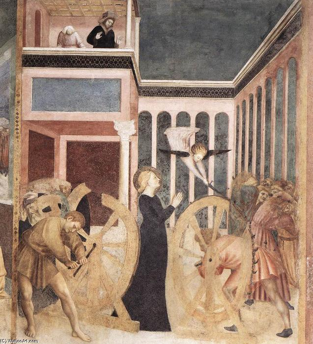 The Martyrdom of St Catherine, Frescoes by Masolino Da Panicale (1383-1447, Italy)