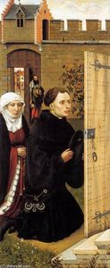 Robert Campin (Master Of Flemalle) - Mérode Altarpiece (left wing)