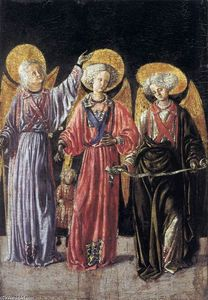 Master Of Pratovecchio - The Three Archangels