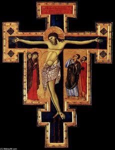 Master Of St Francis - Crucifix