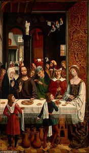 Master Of The Catholic Kings - The Marriage at Cana