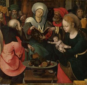 Master Of The Lille Adoration - The Holy Kinship