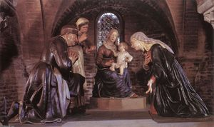 Guido Mazzoni - Adoration of the Child