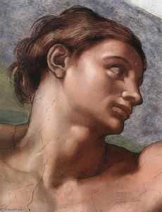 Michelangelo Buonarroti - Creation of Adam (detail)